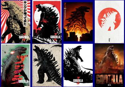映画『GODZILLA ゴジラ (2014) GODZILLA』ポスター(4) ▼ポスター画像クリックで拡大します。