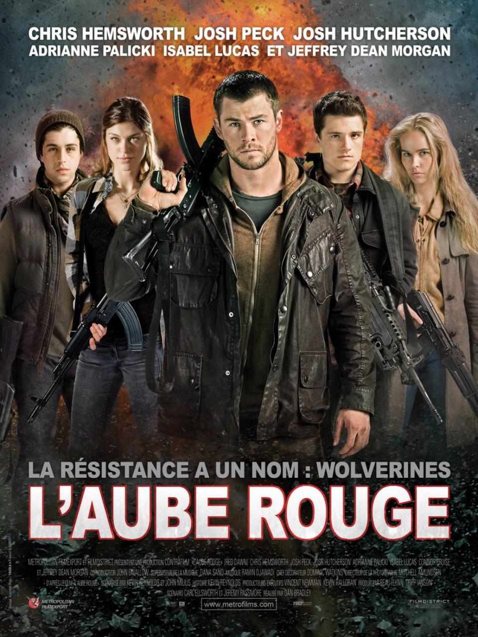 映画『レッド・ドーン (2012) RED DAWN』ポスター(2)▼ポスター画像クリックで拡大します。