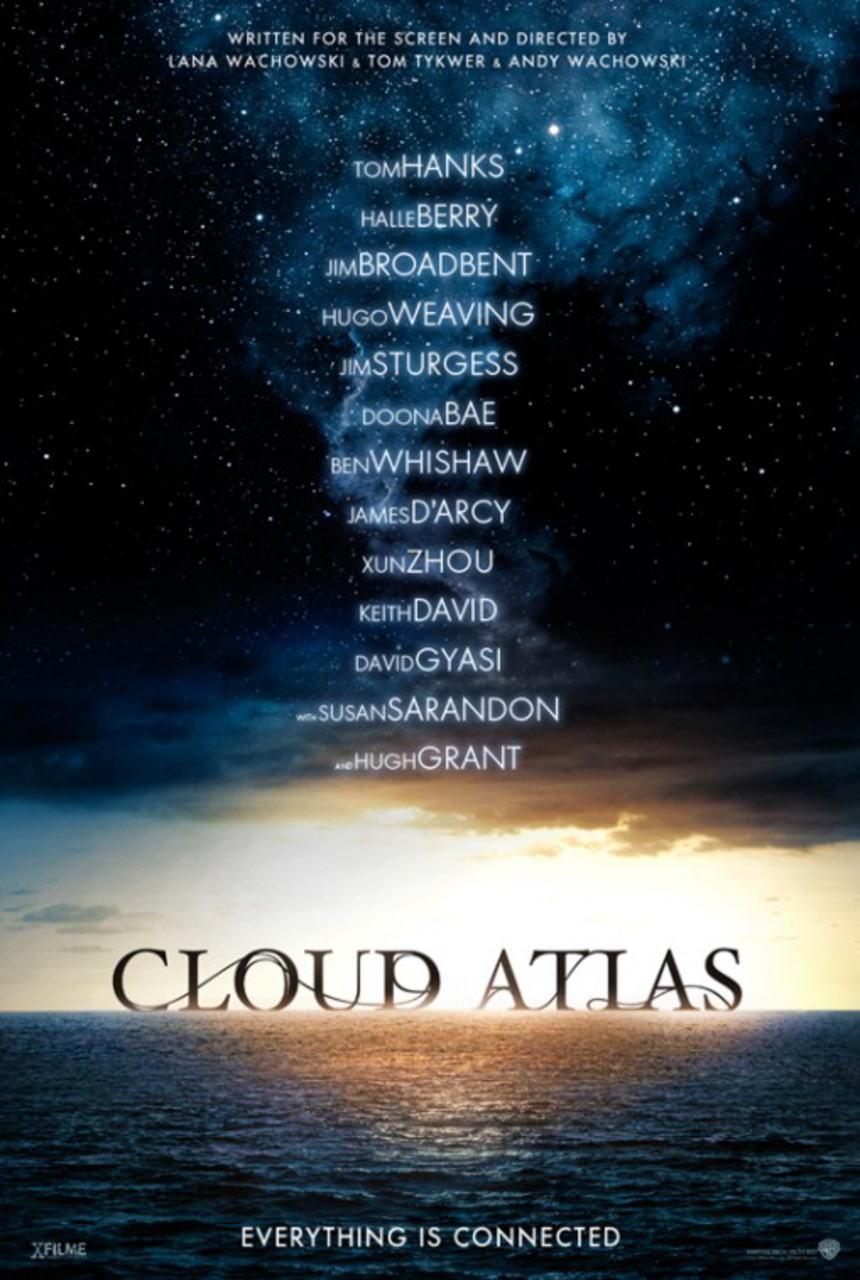 映画『クラウド アトラス (2012) CLOUD ATLAS』ポスター(2)▼ポスター画像クリックで拡大します。