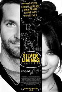 映画『 世界にひとつのプレイブック (2012) SILVER LININGS PLAYBOOK 』ポスター