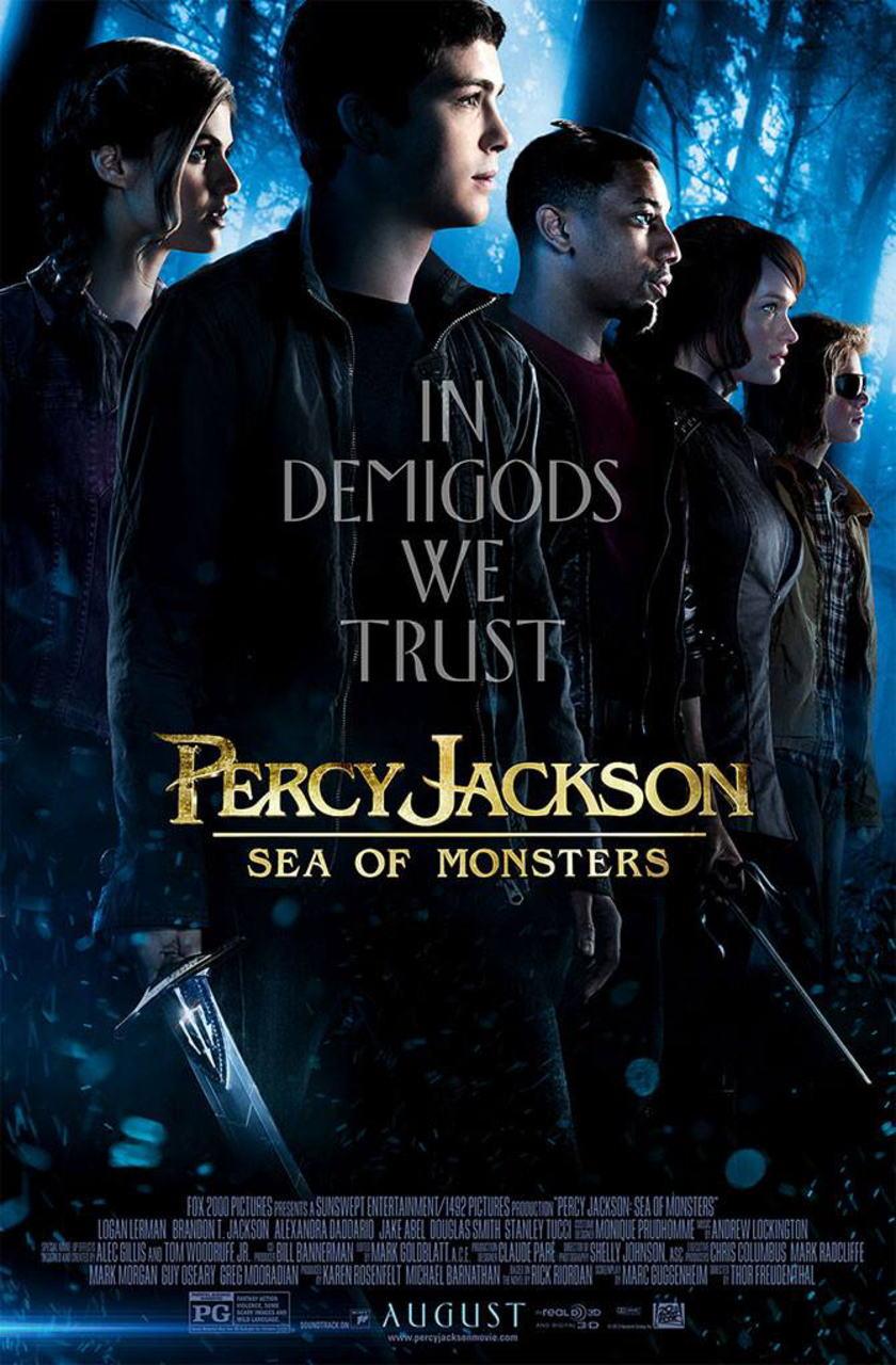 映画『パーシー・ジャクソンとオリンポスの神々:魔の海 (2013) PERCY JACKSON: SEA OF MONSTERS』ポスター(4) ▼ポスター画像クリックで拡大します。
