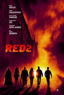 映画『 REDリターンズ (2013) RED 2 』ポスター