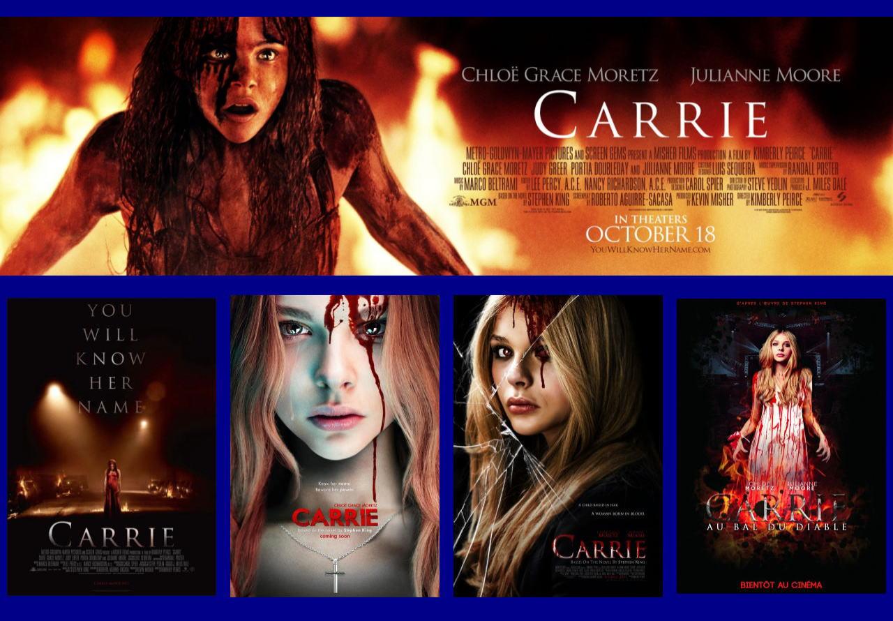映画『キャリー (2013) CARRIE』ポスター(5)▼ポスター画像クリックで拡大します。