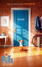 映画『 ペット (2016) THE SECRET LIFE OF PETS 』ポスター
