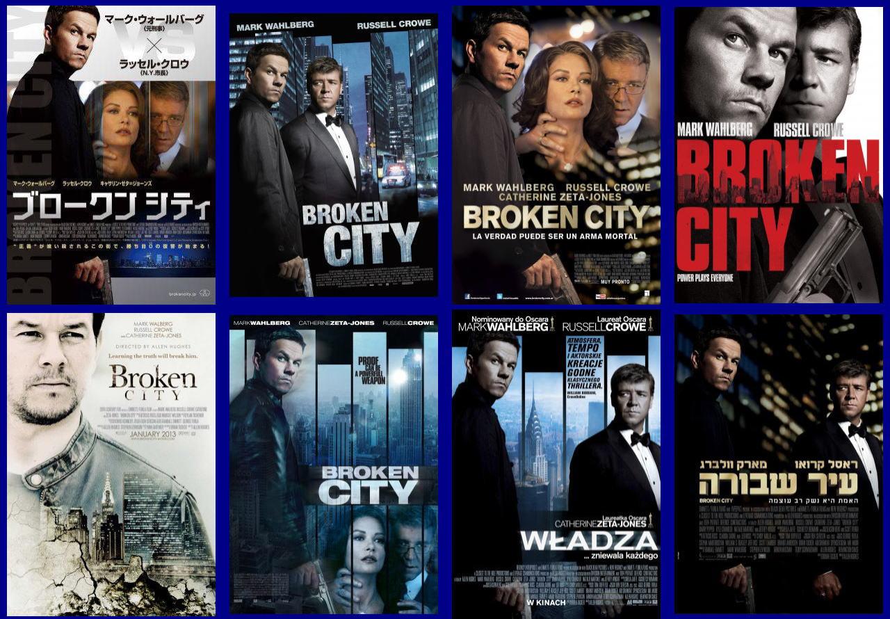映画『ブロークンシティ (2012) BROKEN CITY』ポスター(5) ▼ポスター画像クリックで拡大します。