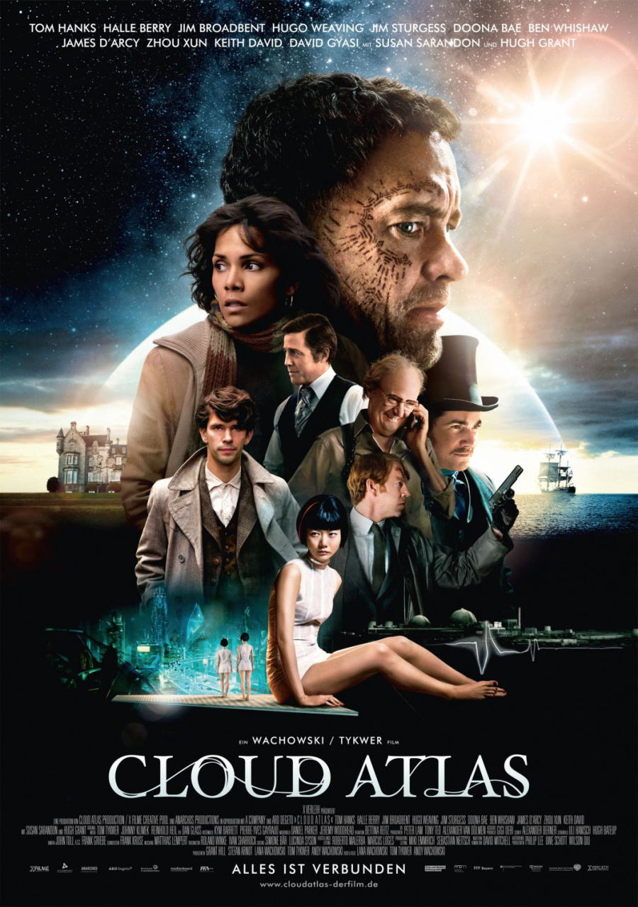 映画『クラウド アトラス (2012) CLOUD ATLAS』ポスター(3)▼ポスター画像クリックで拡大します。