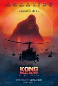 キングコング:髑髏島の巨神ポスター02画像 ▼画像クリックで拡大します@映画の森てんこ森