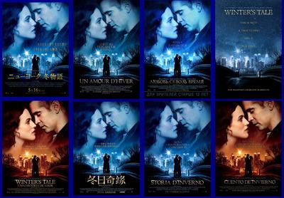 映画『ニューヨーク 冬物語 (2014) WINTER'S TALE』ポスター(4)▼ポスター画像クリックで拡大します。
