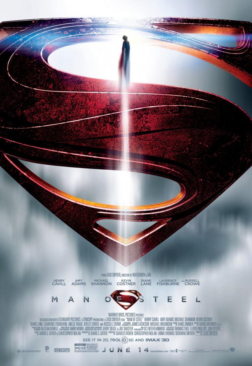 映画『マン・オブ・スティール (2013) MAN OF STEEL』ポスター(3)▼ポスター画像クリックで拡大します。