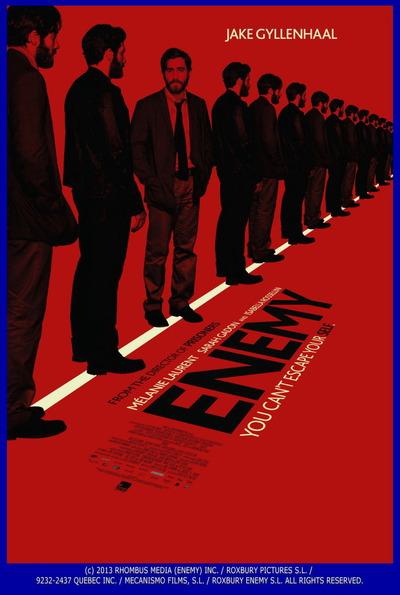 映画『複製された男 (2013) ENEMY』ポスター(1) ▼ポスター画像クリックで拡大します。