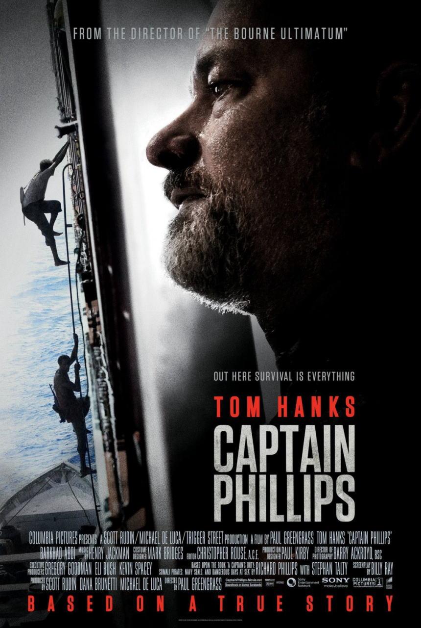映画『キャプテン・フィリップス (2013) CAPTAIN PHILLIPS』ポスター(2) ▼ポスター画像クリックで拡大します。