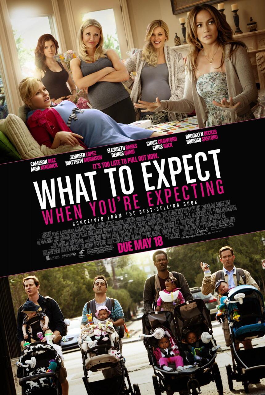 映画『恋愛だけじゃダメかしら? WHAT TO EXPECT WHEN YOU'RE EXPECTING』ポスター(1)▼ポスター画像クリックで拡大します。