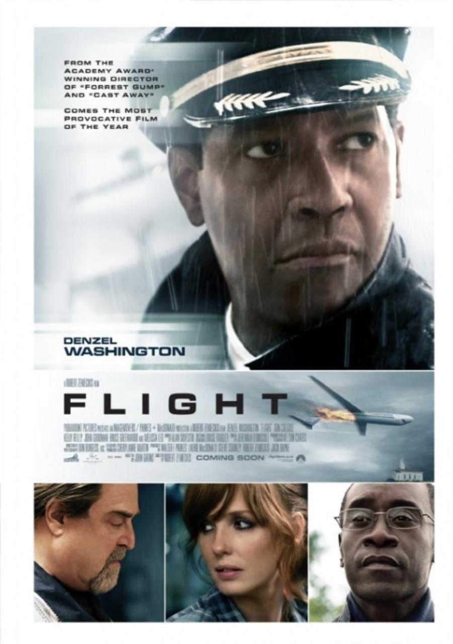 映画『フライト FLIGHT』ポスター(2) ▼ポスター画像クリックで拡大します。