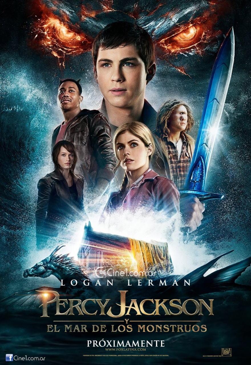 映画『パーシー・ジャクソンとオリンポスの神々:魔の海 (2013) PERCY JACKSON: SEA OF MONSTERS』ポスター(5)▼ポスター画像クリックで拡大します。