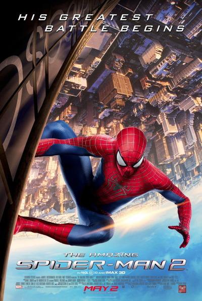 映画『アメイジング・スパイダーマン2 (2014) CAPTAIN AMERICA: THE WINTER SOLDIER』ポスター(1) ▼ポスター画像クリックで拡大します。