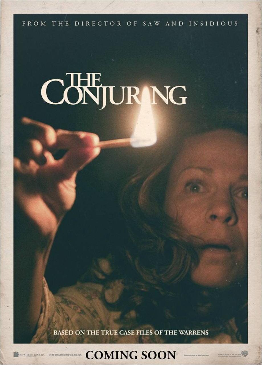 映画『死霊館 (2013) THE CONJURING』ポスター(5)▼ポスター画像クリックで拡大します。