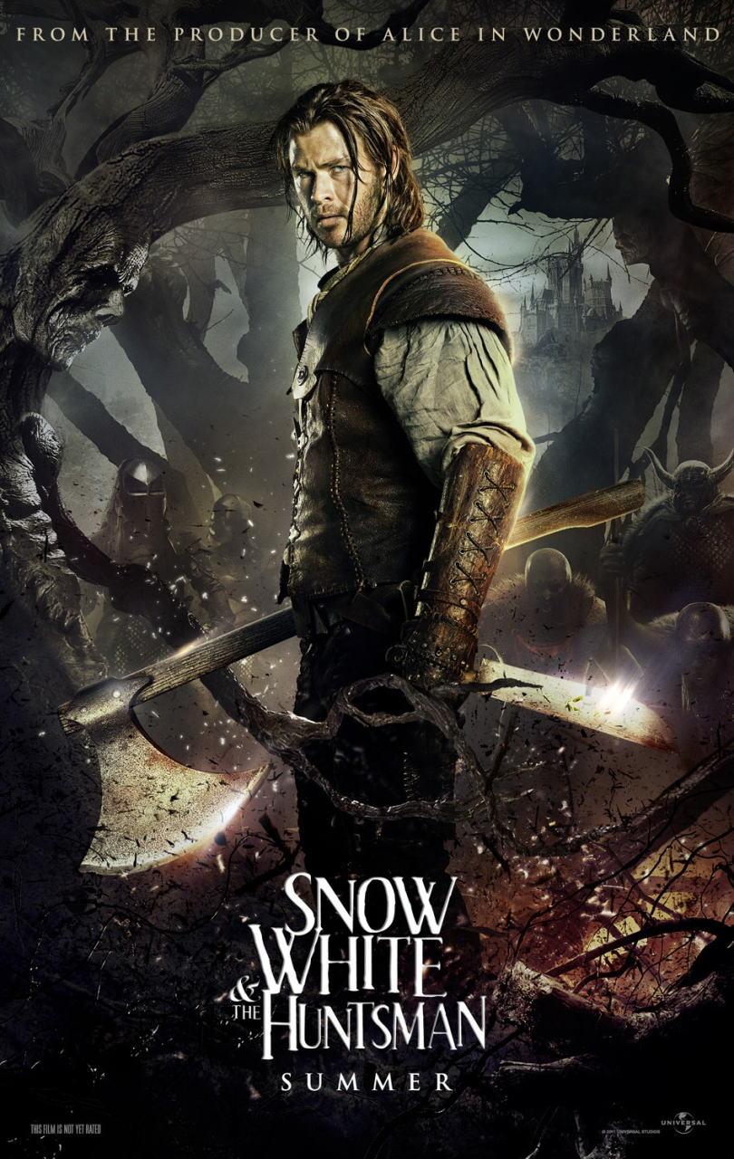 映画『スノーホワイト SNOW WHITE AND THE HUNTSMAN』ポスター(4) ▼ポスター画像クリックで拡大します。