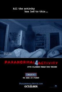 映画『 パラノーマル・アクティビティ4 (2012) PARANORMAL ACTIVITY 4 』ポスター