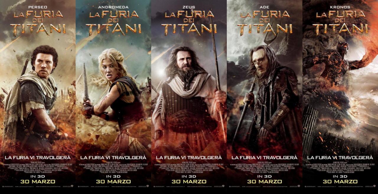 映画『タイタンの逆襲 WRATH OF THE TITANS』ポスター(2) ▼ポスター画像クリックで拡大します。