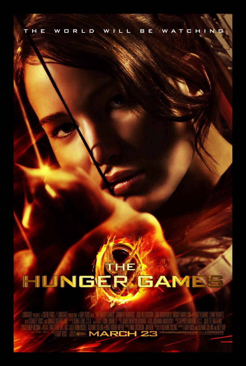 映画『ハンガー・ゲーム THE HUNGER GAMES』ポスター(2) ▼ポスター画像クリックで拡大します。