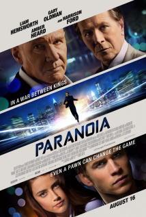 映画『 パワー・ゲーム (2013) PARANOIA 』ポスター