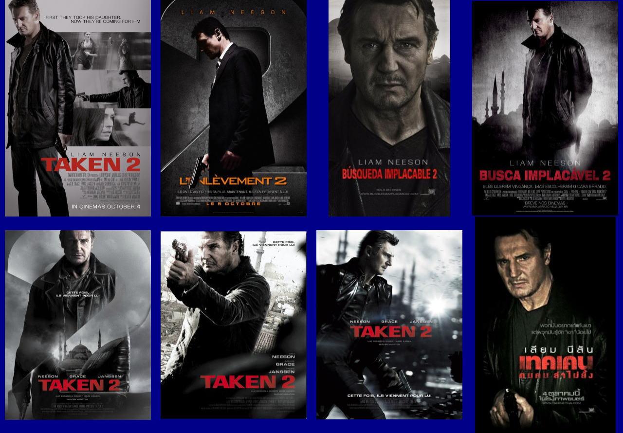 映画『96時間/リベンジ TAKEN 2』ポスター(5)▼ポスター画像クリックで拡大します。