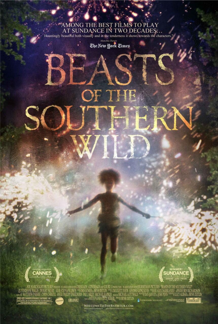 映画『ハッシュパピー 〜バスタブ島の少女〜 BEASTS OF THE SOUTHERN WILD』ポスター(1)▼ポスター画像クリックで拡大します。