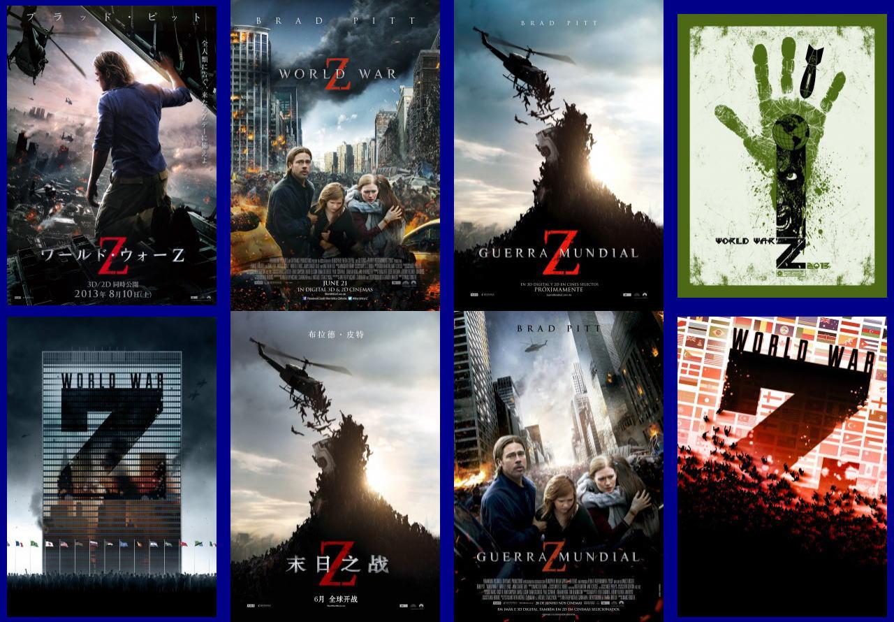 映画『ワールド・ウォーZ (2013) WORLD WAR Z』ポスター(6)▼ポスター画像クリックで拡大します。