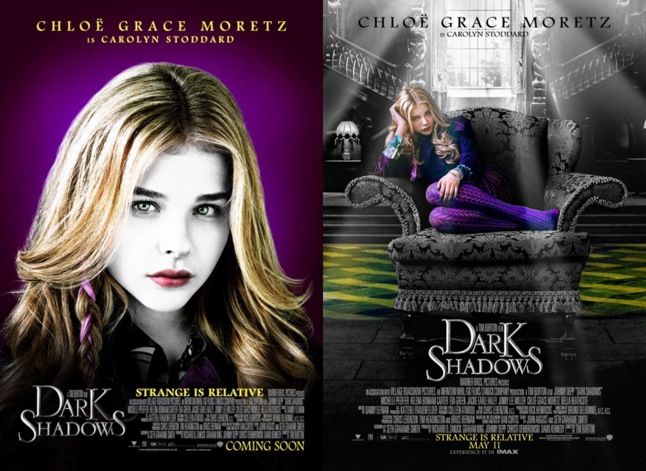 映画『ダーク・シャドウ DARK SHADOWS』ポスター(5) ▼ポスター画像クリックで拡大します。