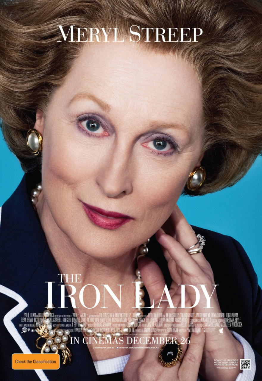 映画『マーガレット・サッチャー 鉄の女の涙 THE IRON LADY』ポスター(1)▼ポスター画像クリックで拡大します。
