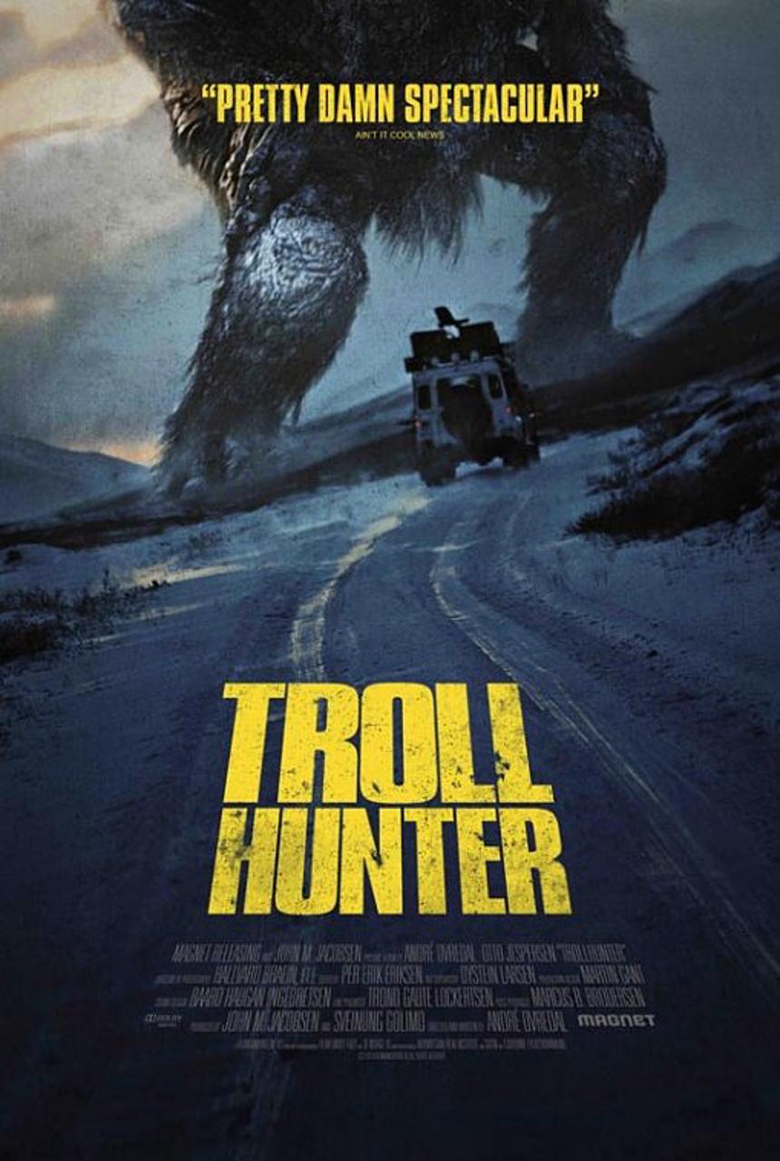 映画『トロール・ハンター THE TROLL HUNTER』ポスター(2)▼ポスター画像クリックで拡大します。