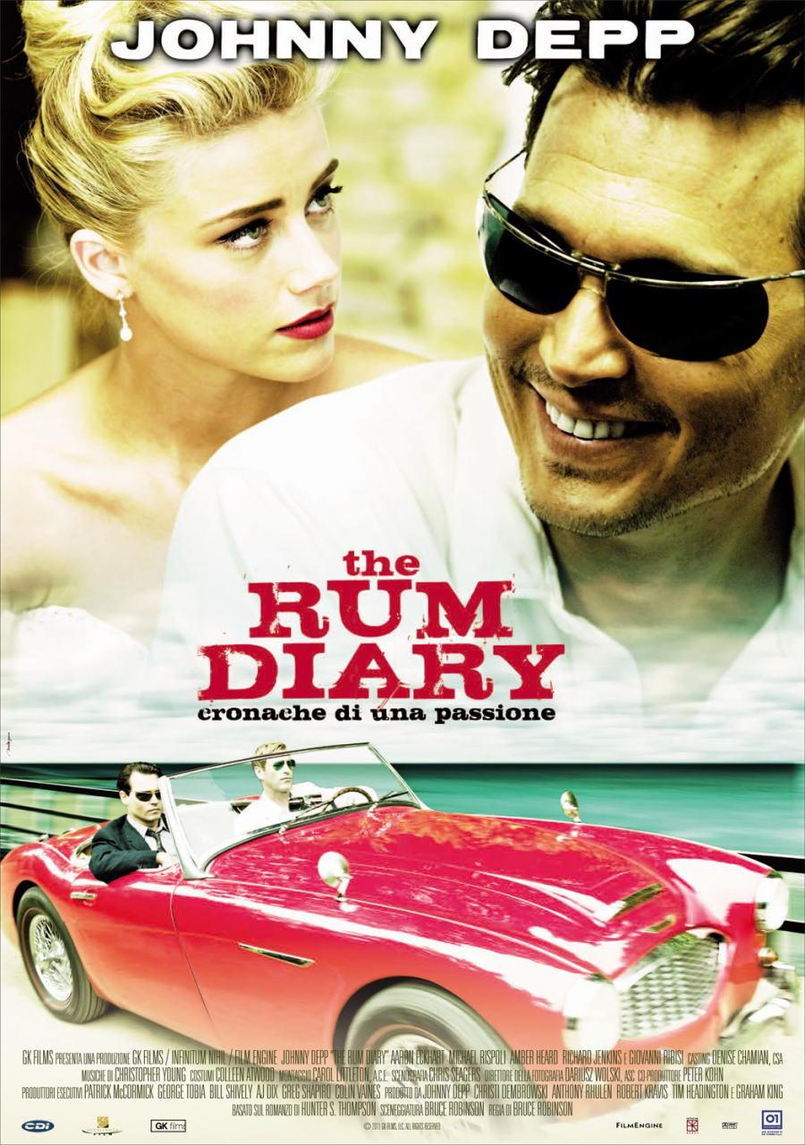 映画『ラム・ダイアリー THE RUM DIARY』ポスター(5)▼ポスター画像クリックで拡大します。