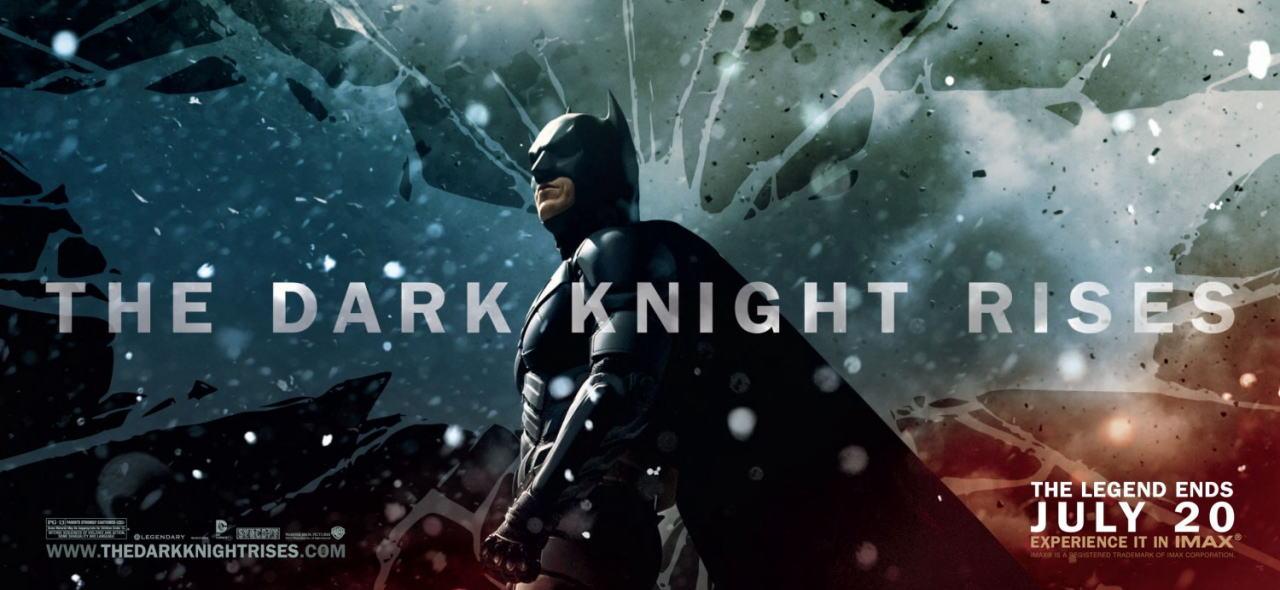 映画『ダークナイト ライジング THE DARK KNIGHT RISES』ポスター(4) ▼ポスター画像クリックで拡大します。