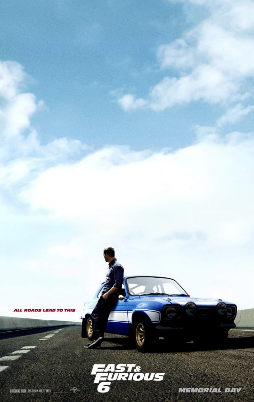 映画『ワイルド・スピード EURO MISSION (2013) FAST & FURIOUS 6』ポスター(3) ▼ポスター画像クリックで拡大します。
