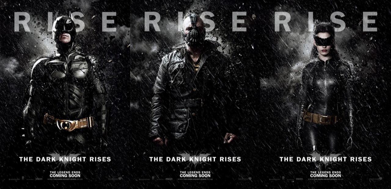 映画『ダークナイト ライジング THE DARK KNIGHT RISES』ポスター(7)▼ポスター画像クリックで拡大します。