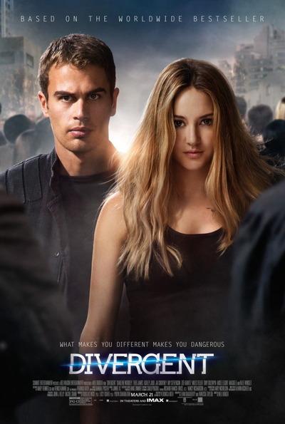 映画『ダイバージェント (2014) DIVERGENT』ポスター(1)▼ポスター画像クリックで拡大します。