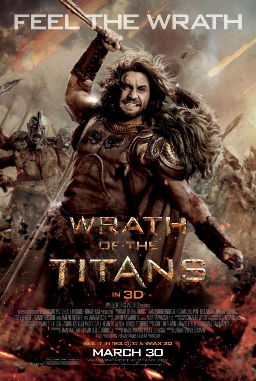 映画『タイタンの逆襲 WRATH OF THE TITANS』ポスター(4) ▼ポスター画像クリックで拡大します。