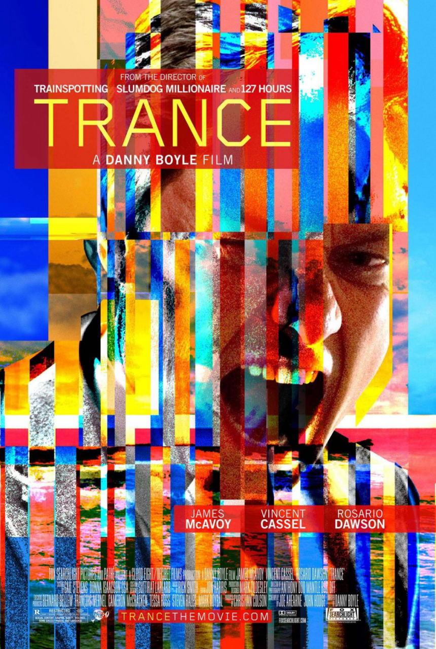 映画『トランス (2013) TRANCE』ポスター(2)▼ポスター画像クリックで拡大します。