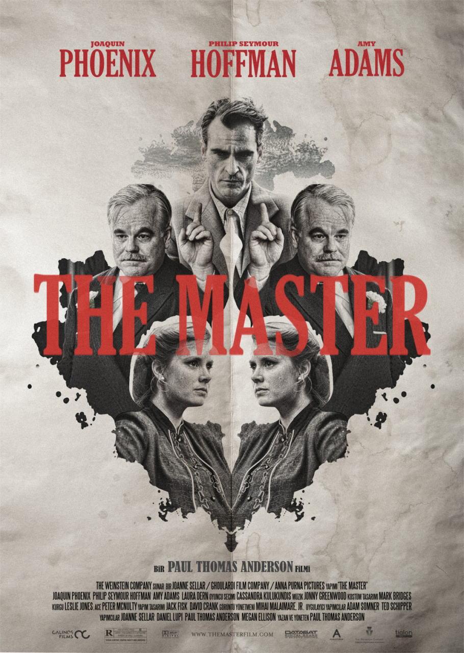 映画『ザ・マスター THE MASTER』ポスター(3)▼ポスター画像クリックで拡大します。
