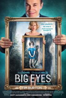 映画『 ビッグ・アイズ (2014) BIG EYES 』ポスター