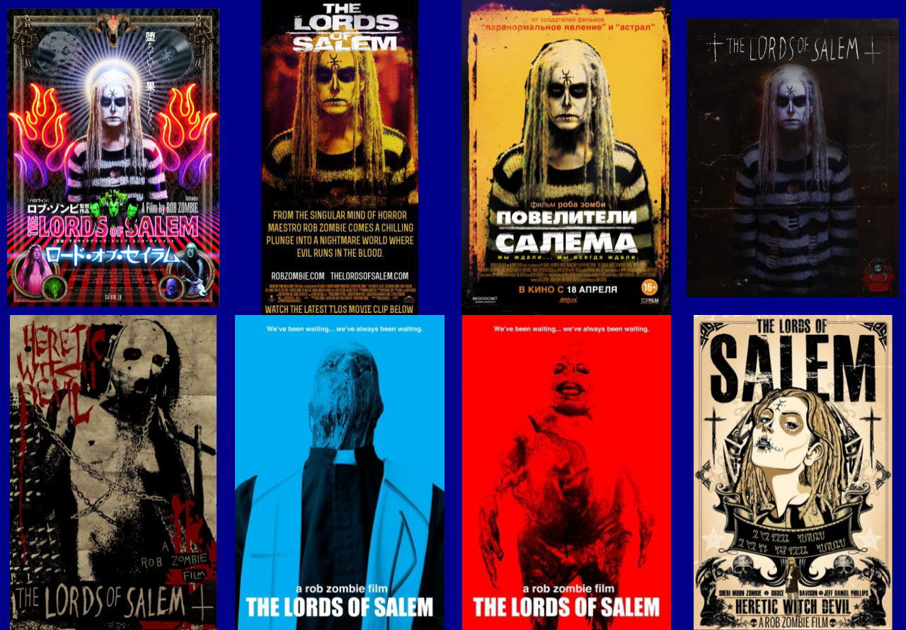 映画『ロード・オブ・セイラム (2012) THE LORDS OF SALEM』ポスター(5) ▼ポスター画像クリックで拡大します。