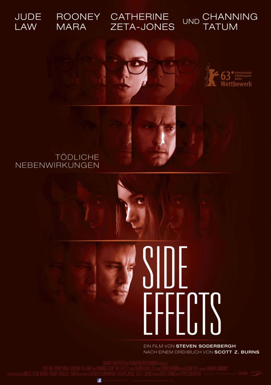 映画『サイド・エフェクト (2013) SIDE EFFECTS』ポスター(3)▼ポスター画像クリックで拡大します。