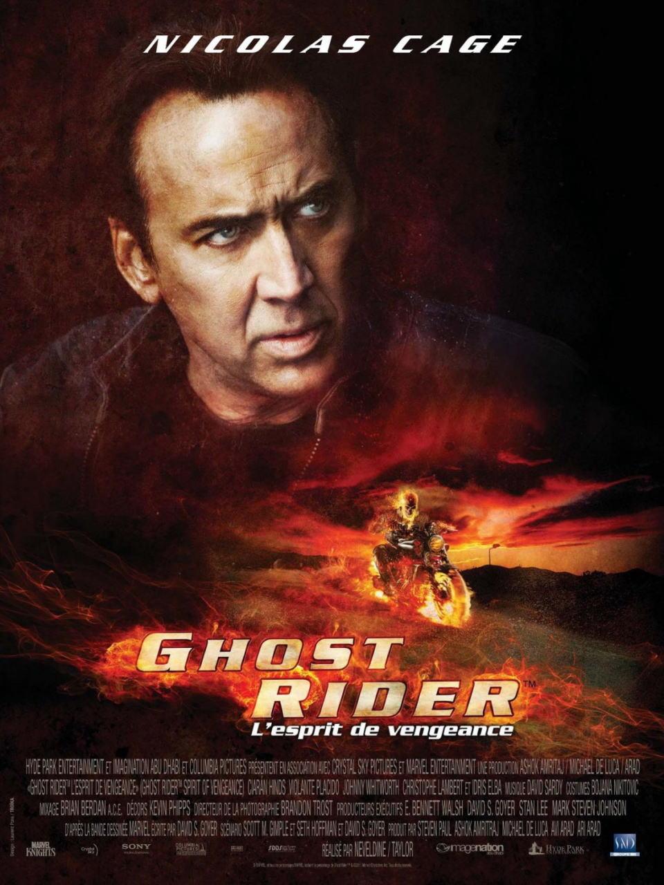 映画『ゴーストライダー2 GHOST RIDER: SPIRIT OF VENGEANCE』ポスター(5)▼ポスター画像クリックで拡大します。