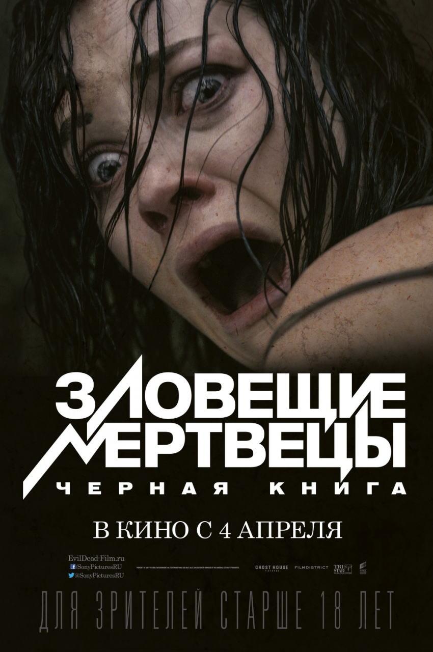 映画『死霊のはらわた EVIL DEAD』ポスター(4)▼ポスター画像クリックで拡大します。