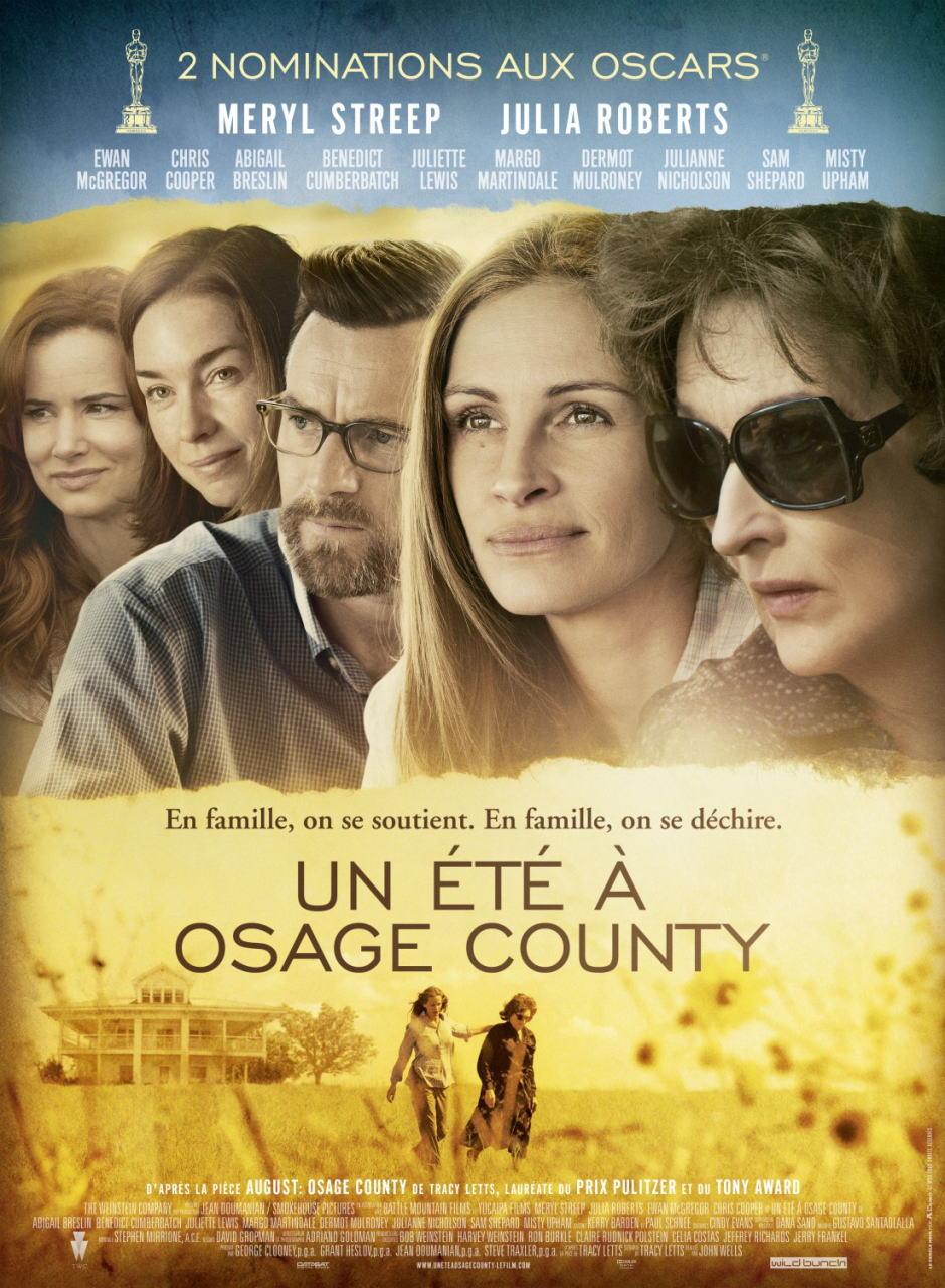 映画『8月の家族たち (2013) AUGUST: OSAGE COUNTY』ポスター(3) ▼ポスター画像クリックで拡大します。