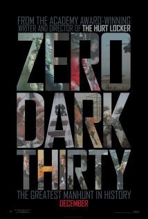映画『 ゼロ・ダーク・サーティ (2012) ZERO DARK THIRTY 』ポスター