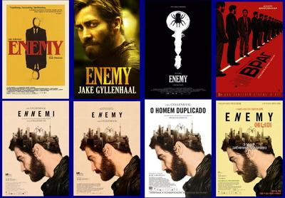 映画『複製された男 (2013) ENEMY』ポスター(4) ▼ポスター画像クリックで拡大します。