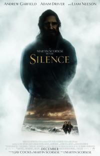 沈黙 -サイレンス-ポスター01画像 ▼画像クリックで拡大します@映画の森てんこ森
