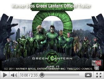 ※クリックでYouTube『グリーン・ランタン GREEN LANTERN』予告編へ