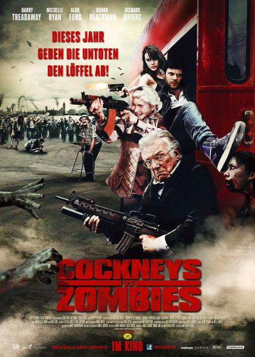 映画『ロンドンゾンビ紀行 COCKNEYS VS ZOMBIES』ポスター(1)▼ポスター画像クリックで拡大します。